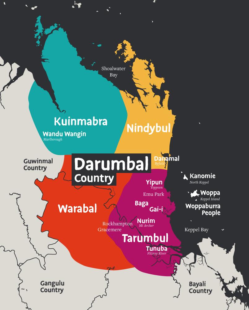Darumbal Clan Groups